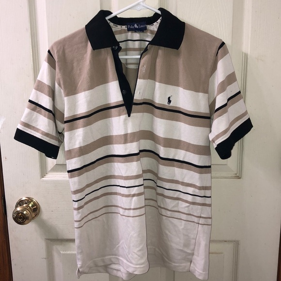 💚 Ralph Lauren Polo Shirt T Shirt Button Up